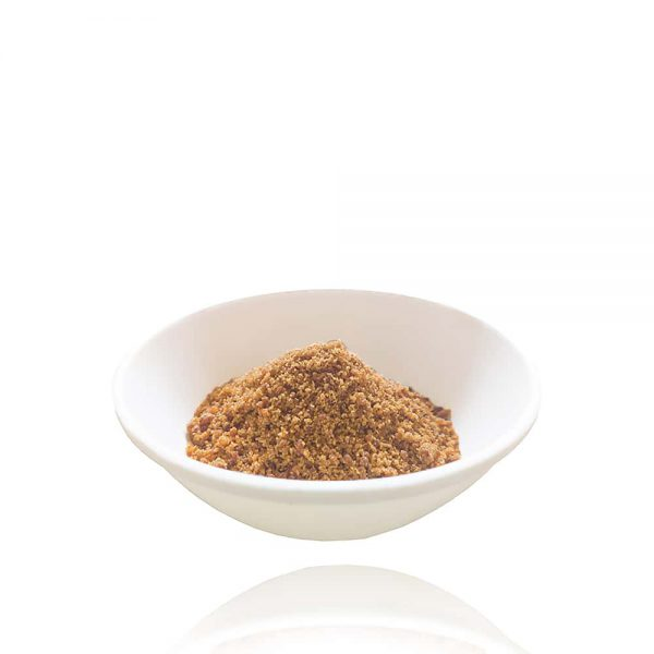 Processed out of raw sugarcane to get sugarcane jaggery powder